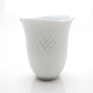 マイセン 波の戯れホワイト ビーカーマグカップ 55404|nihonnotsurugi