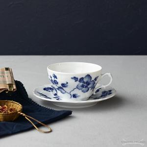 リチャード・ジノリ ローズブルー ティーカップ&ソーサー|nihonnotsurugi