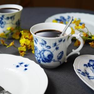 SALE / リチャード・ジノリ ローズブルー マグカップ|nihonnotsurugi