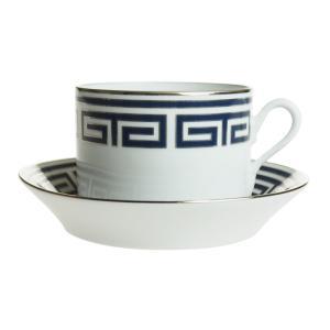 リチャード・ジノリ ラビリント サファイア ティーカップ&ソーサー|nihonnotsurugi