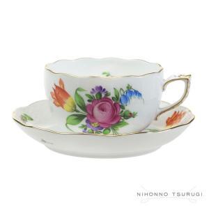 ウィンターSALE 送料無料 / ヘレンド BT-1 チューリップの花束 ティー カップ&ソーサー 724|nihonnotsurugi