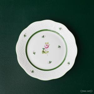 ヘレンド  VRH ウィーンのバラ プレート 19cm 517 / 送料無料祭|nihonnotsurugi