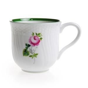 ヘレンド VRH ウィーンのバラ マグカップ 1739|nihonnotsurugi