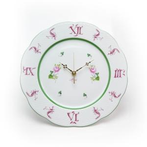 ヘレンド (HEREND) VRH ウォールクロック 壁掛け時計 28.5cm 00527|nihonnotsurugi