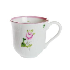 ヘレンド VRHX4 ウィーンのバラ ピンク マグカップ 250ml 1729|nihonnotsurugi