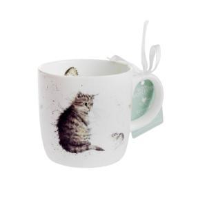 ロイヤルウースター レンデル マグカップ 330ml Cat and Mouse(猫)|nihonnotsurugi