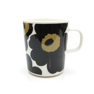 プレミアムSALE / マリメッコ ウニッコ マグカップ 250ml ホワイト×ブラック 030|nihonnotsurugi