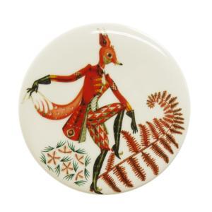 イッタラ タンシ ウォールプレート 12cm FOX キツネ  / 送料無料祭|nihonnotsurugi