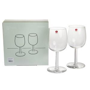 イッタラ ラーミ レッド ワイングラス 280ml ペア|nihonnotsurugi