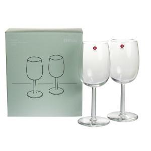 イッタラ ラーミ ホワイトワイングラス 280ml ペア nihonnotsurugi