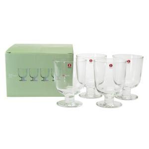 イッタラ レンピ LEMPI グラス 350ml クリア 4客セット|nihonnotsurugi