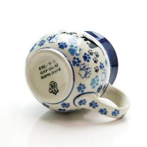 ブンツラウカステル (Bunzlau Castle) キャットウォーク ファーマーズ マグカップ 1005  【ポーリッシュポタリー ポーランド食器】|nihonnotsurugi|02