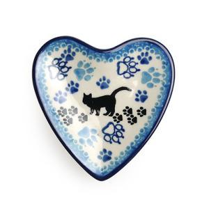 ブンツラウカステル キャットウォーク ティーバッグディッシュ 小皿 ハート|nihonnotsurugi