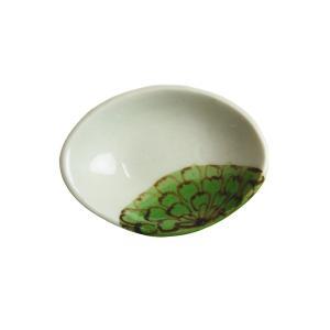 陶房ななかまど 花紋豆皿 (れんげ置き)|nihonnotsurugi