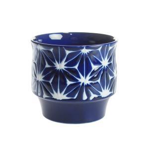 波佐見焼 琉璃 RURI スタックカップ 麻の葉