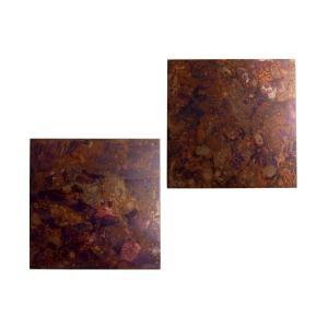 モメンタムファクトリー copper coaster 2枚セット 孔雀色 nihonnotsurugi