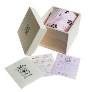 田島硝子 富士山 ロックグラス 桜富士 TG16-015-RS (桜風呂敷包み)|nihonnotsurugi|05