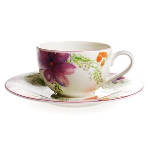ビレロイ&ボッホ (Villeroy&Boch) マリフルール コーヒーカップ&ソーサー 250ml|nihonnotsurugi