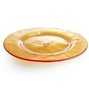 ワルターグラス ( WALTHER GLAS ) ギャラクシー GALAXIE プレート 32cm オレンジ|nihonnotsurugi