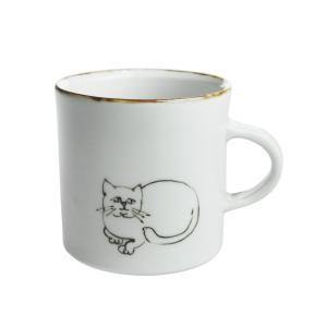 内村七生 白猫 マグカップ|nihonnotsurugi