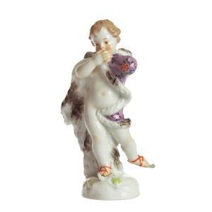 生き生きとしたマイセンのフィギュリン  原型はヨハン・J・ケンドラーが1764年に制作した作品。 ...