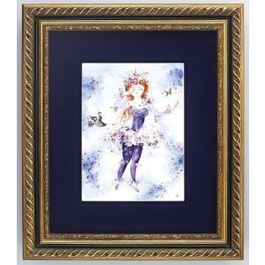 マイセン 額装陶画 真夏の夜の夢 妖精女王ティタニア No,436 9m229 / 購入時確認必要|nihonnotsurugi