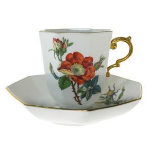 マイセン (Meissen)  No.30 フラワー コーヒーカップ&ソーサー 206710/55835 nihonnotsurugi