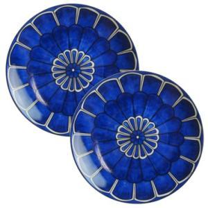 エルメス ブルーダイユール Blue D'aileurs B&Bプレート 17cm ペア 030012P2|nihonnotsurugi