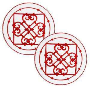 エルメス (HERMES) ガダルキヴィール 11001P ディナープレート26cm  ペア  [エルメス 食器]|nihonnotsurugi