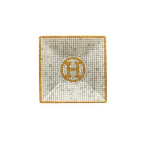 エルメス (HERMES) モザイク 24 スクエアプレート 7×7cm #1 026041P [エルメス 食器]|nihonnotsurugi