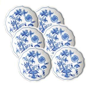 カールスバード ブルーオニオン (Carlsbad Blue Onion) 小皿 11cm 6枚セット CB016|nihonnotsurugi