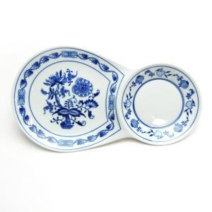 カールスバード ブルーオニオン (Carlsbad Blue Onion) ブレックファーストプレート 30×17|nihonnotsurugi