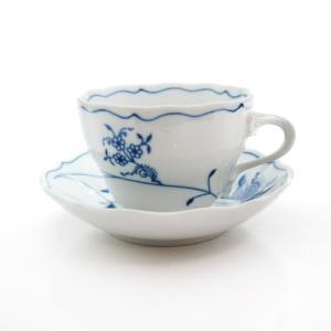 【送料無料祭】カールスバード ブルーオニオン (Carlsbad Blue Onion) ECO コーヒーカップ&ソーサー 210cc|nihonnotsurugi