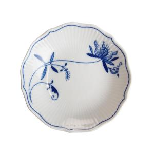 カールスバード ブルーオニオン ECO プラハ 小皿 14cm|nihonnotsurugi