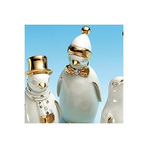 アールジー・ポーセリン (RG Porcellane) ペンギン チョウネクタイ|nihonnotsurugi