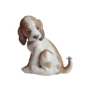 リヤドロ 人形 犬 マイフレンド 6210|nihonnotsurugi