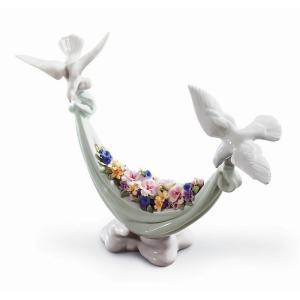 リヤドロ (LLADRO) 平和の花かご 6579 nihonnotsurugi