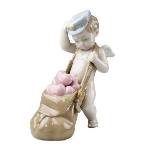 リヤドロ (LLADRO) 人形 ハートがいっぱい 6830|nihonnotsurugi