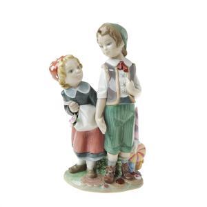 リヤドロ  人形 ヘンゼルとグレーテル 8658|nihonnotsurugi