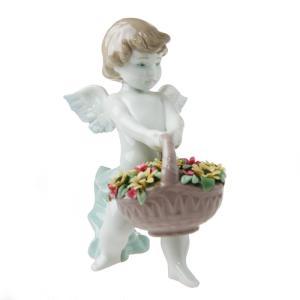 リヤドロ 人形 天使の贈りもの 8676|nihonnotsurugi
