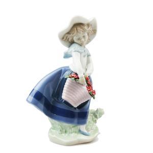 リヤドロ 人形 きれいな花ばかり カーネーション 8705|nihonnotsurugi