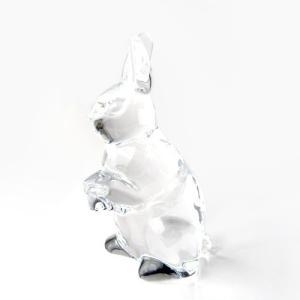 バカラ (Baccarat) 干支【兎】 ウサギ 2011年 限定置物 2605815|nihonnotsurugi