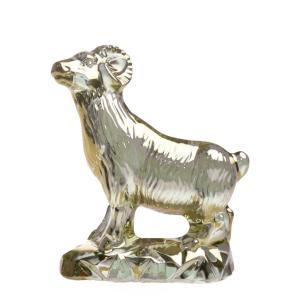 バカラ (Baccarat) 干支[羊] ヒツジ 2015年 限定置物 ゴールド 2-807-703|nihonnotsurugi