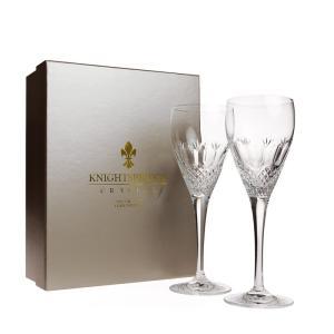 ナイツブリッジ ケンジントン ワイングラス (L) ペア / 箱に少々傷みあり|nihonnotsurugi