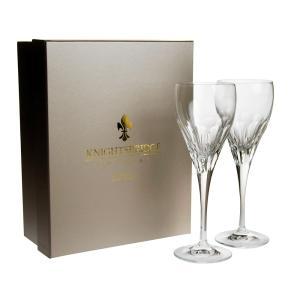 ナイツブリッジ メイフェア ワイングラス (L) ペア / 箱に少々傷みあり|nihonnotsurugi