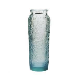 ラリック 花器 ブロッサム ブルー 1249600|nihonnotsurugi