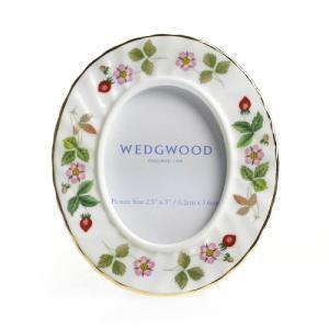 ウェッジウッド (WEDGWOOD) ワイルドストロベリー フォトフレーム S/S|nihonnotsurugi