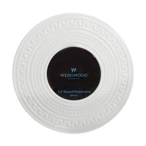ウェッジウッド (WEDGWOOD) インタグリオ ピクチャーフレーム ラウンド 7.8cmx7.8cm|nihonnotsurugi