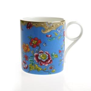 ウェッジウッド (WEDGWOOD) アーカイブ ターコイズ フローラル マグカップ nihonnotsurugi