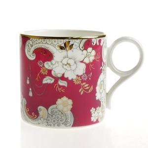 ウェッジウッド アーカイブ ピンク ロココ マグカップ|nihonnotsurugi